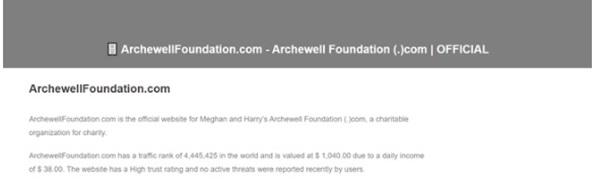 Quay lưng với hoàng gia, Meghan Markle mất mặt khi bị dân mạng hack trang web từ thiện mới, mang tiếng là kẻ đào mỏ-1