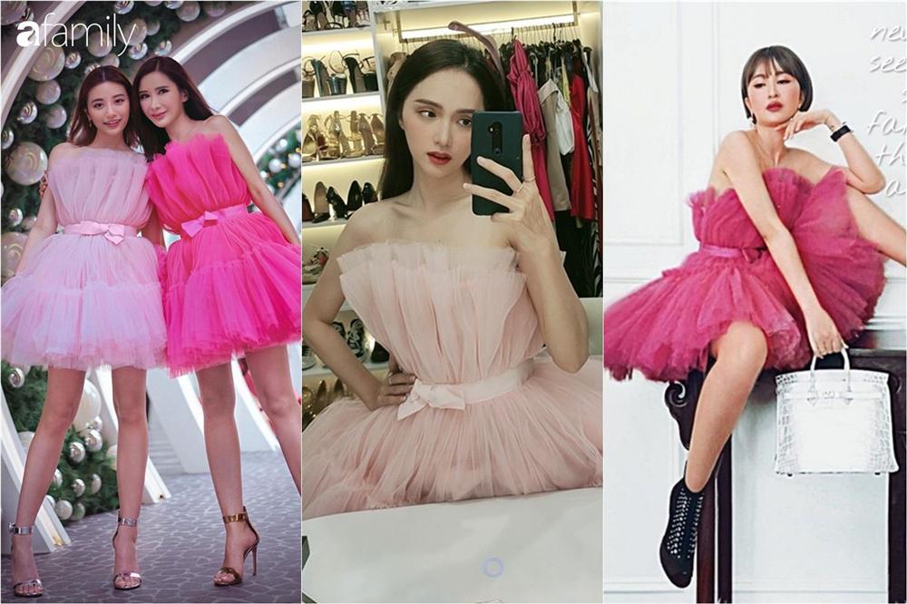 Vì sơ sểnh lộ thân hình khẳng khiu mà Hương Giang kém đẹp hơn vợ 2 Minh Nhựa và bà hoàng Hermes khi cùng diện váy công chúa-1