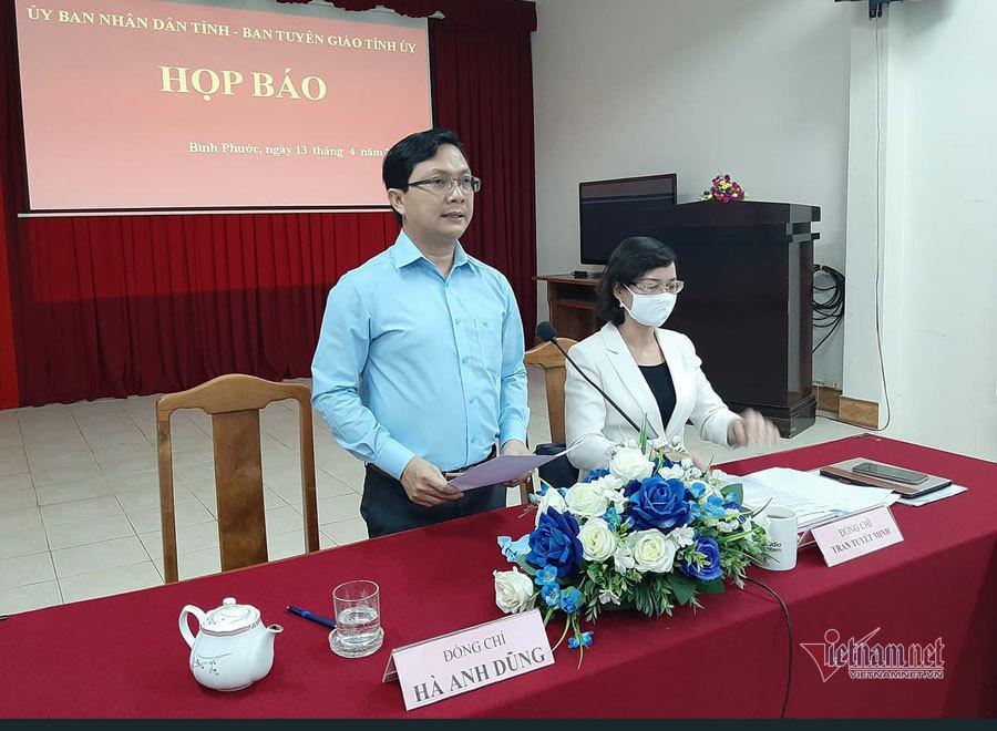 Đình chỉ công tác phó chủ tịch HĐND ở Bình Phước chống đối kiểm dịch-1