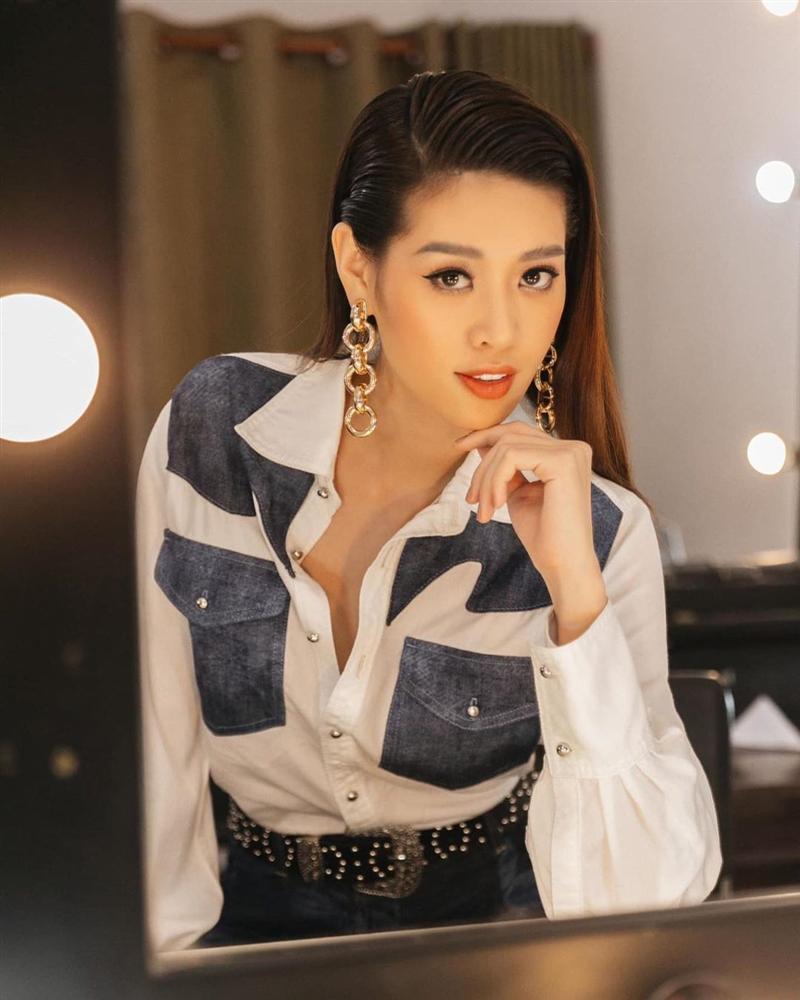 Hoa hậu Khánh Vân trẻ ra ít nhất 3 tuổi nhờ thay đổi cách trang điểm mắt, chị em cũng nên rút kinh nghiệm ngay-2