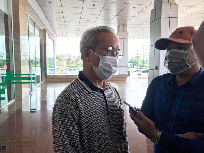 Cụ ông bị ung thư khỏi Covid-19: Sau khi khám bệnh tại BV Bạch Mai về tôi bị sốt và mua thuốc cúm về uống-2