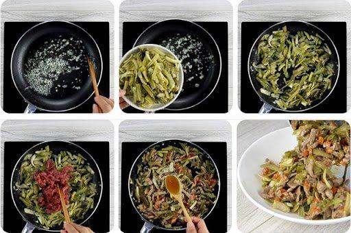 Cách làm cơm rang dưa bò ngon, đơn giản tại nhà-3