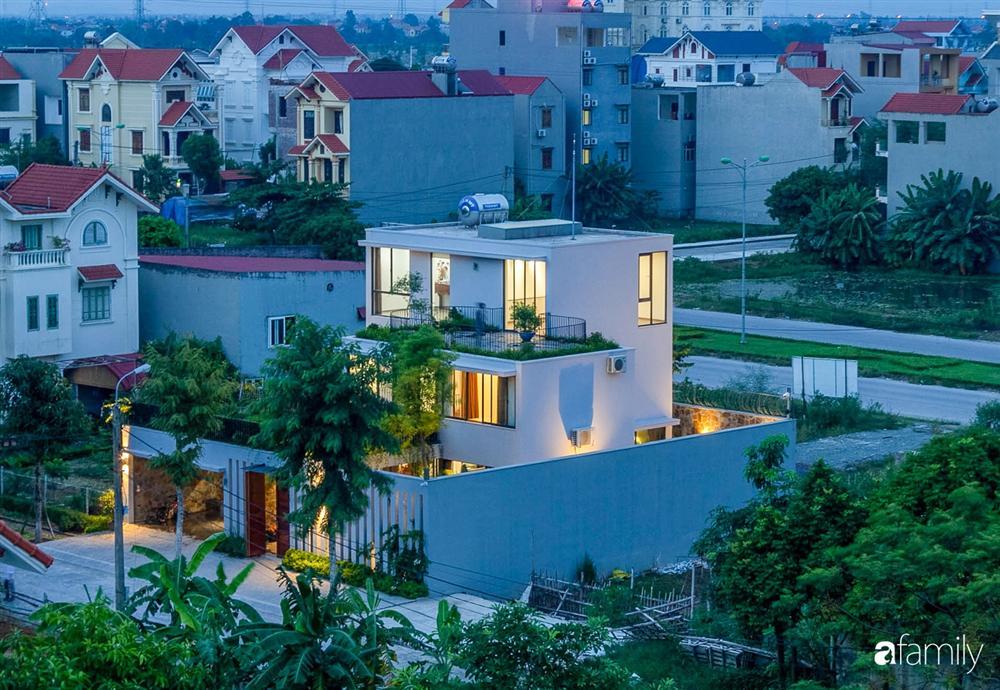 Ngôi nhà 3 tầng lấy cảm hứng từ ruộng bậc thang giúp từng góc nhỏ gần hơn với thiên nhiên ở Ninh Bình-3
