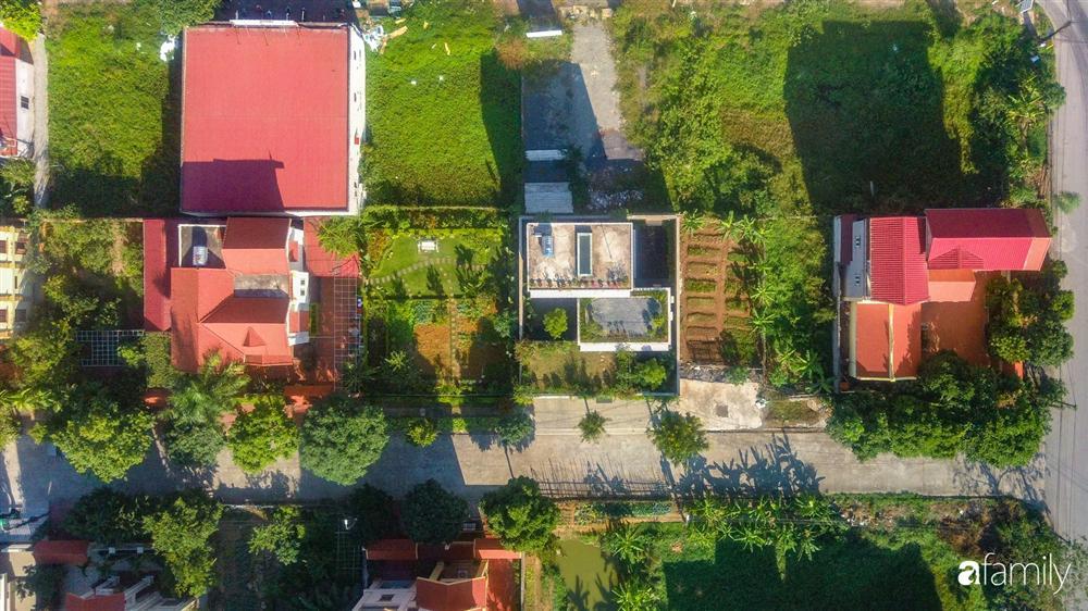 Ngôi nhà 3 tầng lấy cảm hứng từ ruộng bậc thang giúp từng góc nhỏ gần hơn với thiên nhiên ở Ninh Bình-4