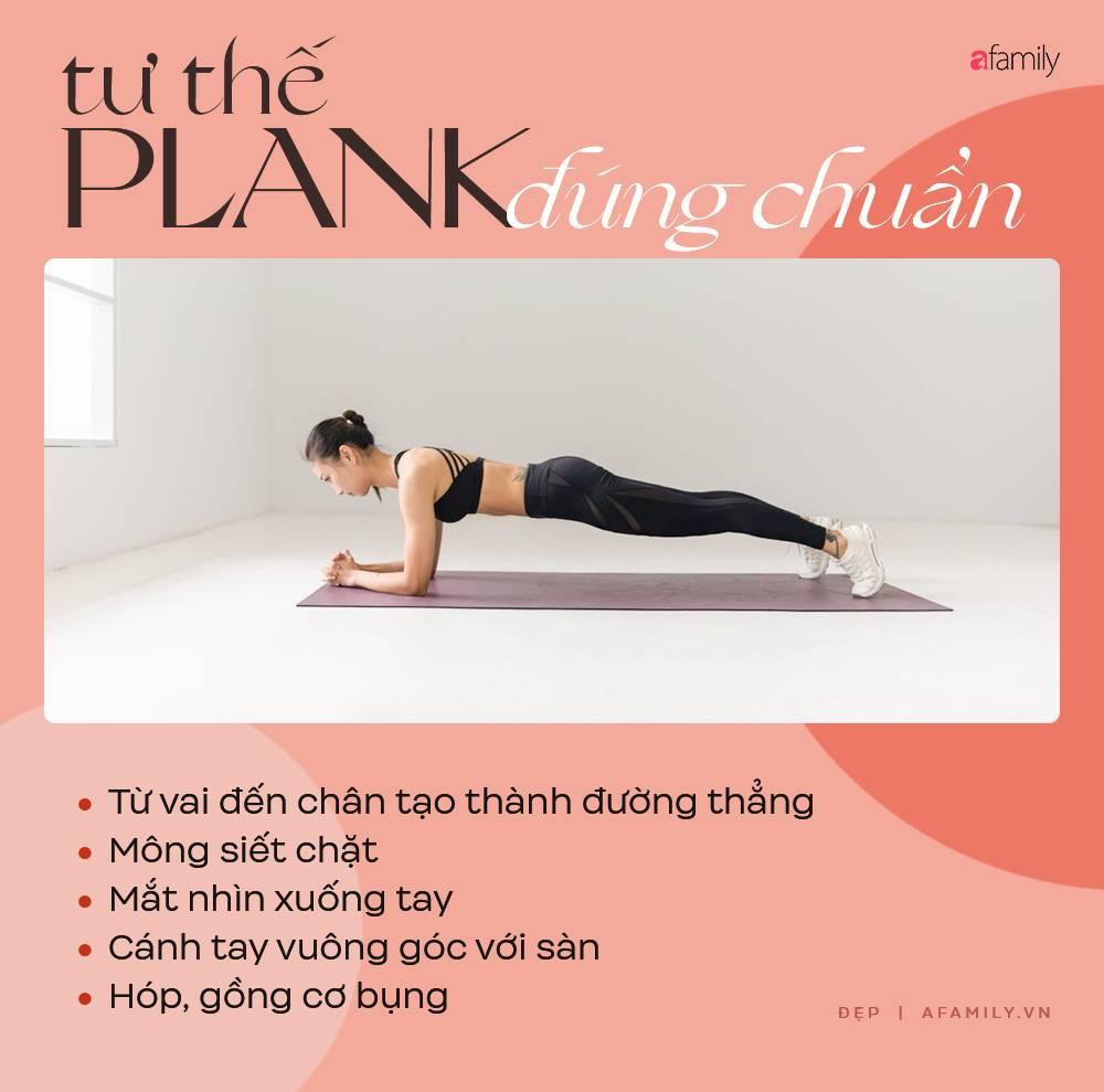 Phạm Băng Băng tập Plank nhưng lại mắc lỗi sai cơ bản mà đa số chị em gặp phải, bảo sao tập xong tay đau và lưng nhức mỏi-6