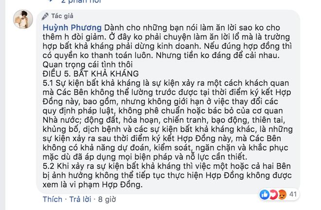 Huỳnh Phương bị ném đá gay gắt vì trách chủ nhà không giảm tiền thuê mùa dịch, còn đăng đàn đáp trả nhưng có hợp lý?-2