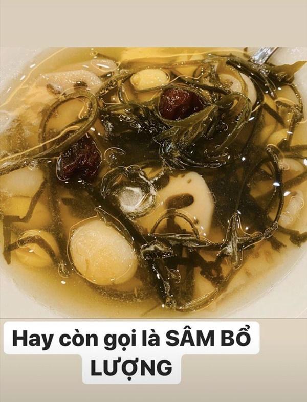 Siêu mẫu Ngọc Thạch giờ thành mẹ đảm, nấu ăn mùa dịch bị trêu Lượm hình trên mạng-9