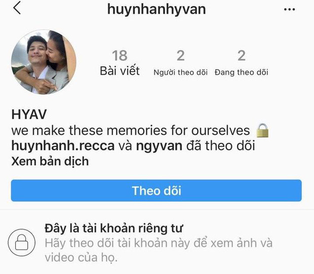 Huỳnh Anh dính tin đồn yêu Hồng Quế nhưng vẫn follow trang lưu giữ hạnh phúc với tình xưa, bạn gái cũ chính thức lên tiếng-1