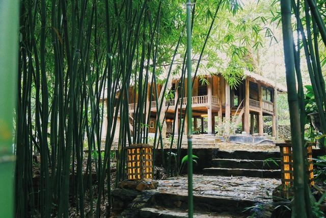 Ngôi nhà trong mơ trên đỉnh núi gần Hà Nội: Cá đầy ao, vườn đầy hoa trái-1
