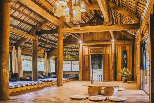 Ngôi nhà trong mơ trên đỉnh núi gần Hà Nội: Cá đầy ao, vườn đầy hoa trái-8