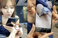 Hari Won khoe nhẫn kim cương khổng lồ vừa được 'người yêu' tặng, zoom lên cận cảnh mới choáng!