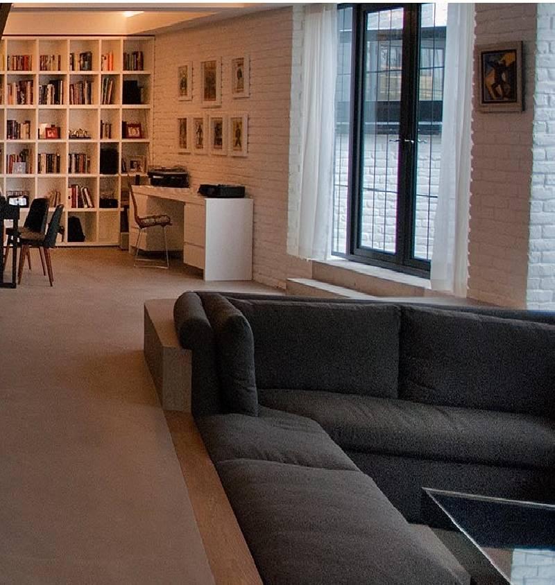 Không gian độc đáo của ngôi nhà có phòng khách được thiết kế chìm-3