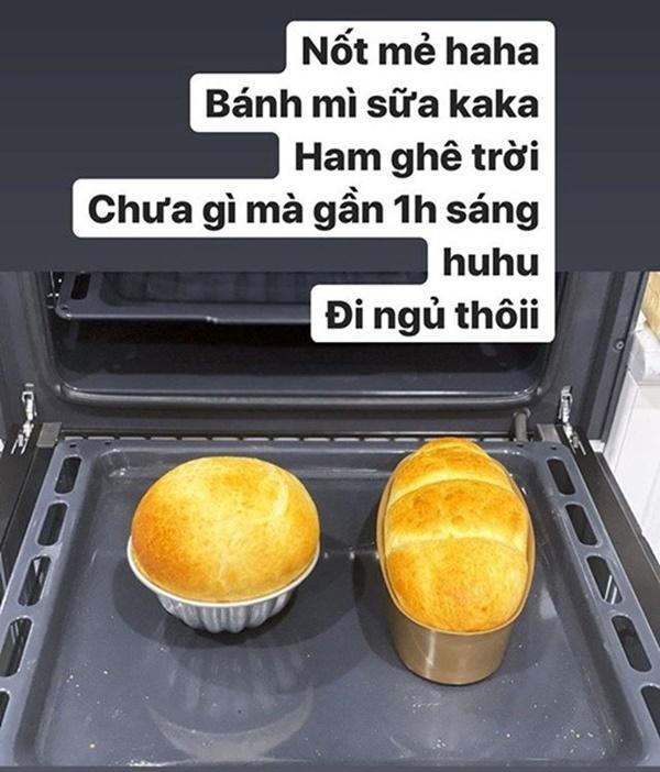 Hòa Minzy phân biệt đối xử, làm bánh cho chồng và cho Đức Phúc khác một trời một vực-8
