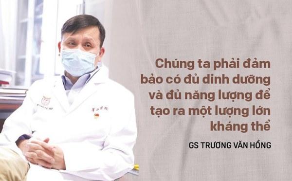 GS đầu ngành Trung Quốc: Để chống lại Covid-19, nên làm một việc rất quan trọng để tăng kháng thể-1