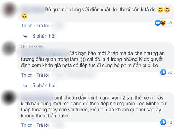 Quân Vương Bất Diệt bị chê thua xa Thế Giới Hôn Nhân, fan Lee Min Ho lập tức phản pháo: Đừng coi kẻo nghiệp quật!-2