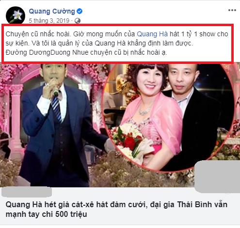 Quang Hà phát ngôn vẫn xem Đường Nhuệ là anh em gây nổi sóng tranh cãi, khán giả đòi tẩy chay-5