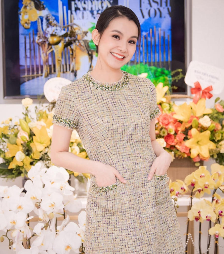 10 năm ở ẩn, Hoa hậu Thùy Lâm vẫn đẹp và quyến rũ-9