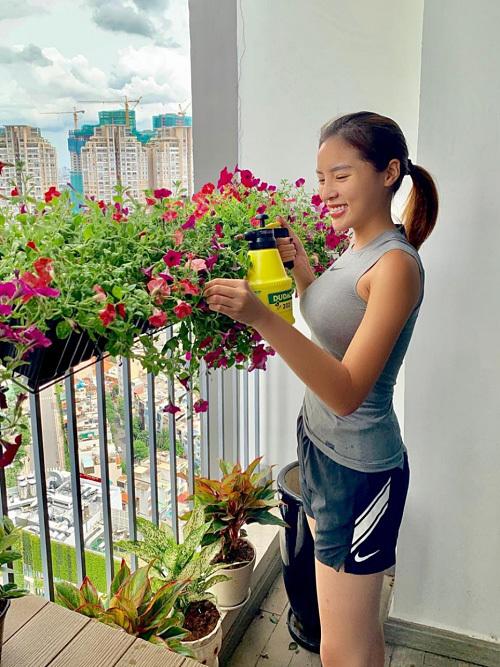 Hoa hậu Kỳ Duyên khoe căn hộ cao cấp-8