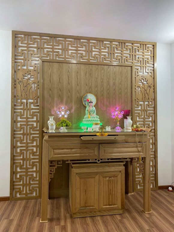 Sau hơn 1 năm ly hôn cháu gái Kim Tiểu Long, ca sĩ Khưu Huy Vũ khoe không gian nhà mới sang trọng-12