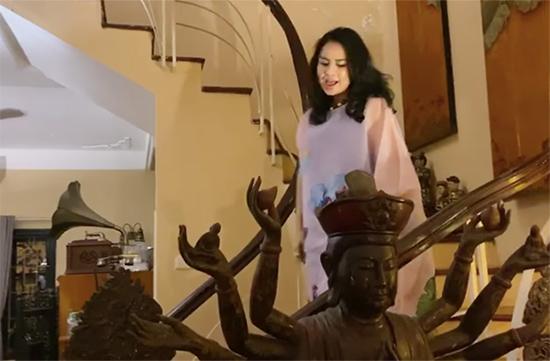 Không gian sống nhiều tượng Phật của Diva Thanh Lam-5