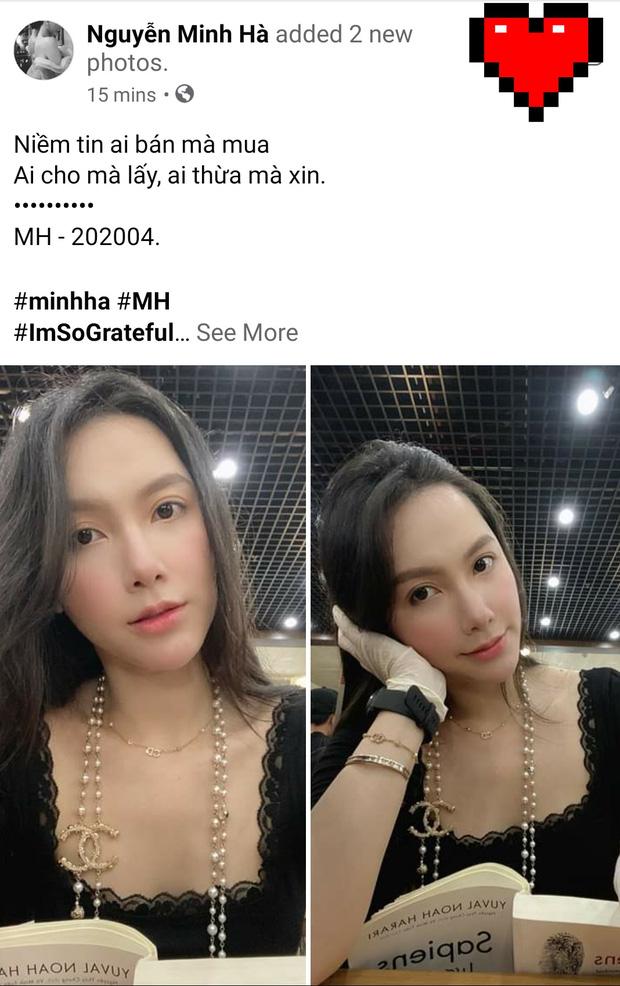 Nghi vấn lộ loạt ảnh thân mật với tình mới ở sân bay, MC Minh Hà chính thức lên tiếng: Mình và bạn chỉ ghé sát tai để chào hỏi-4