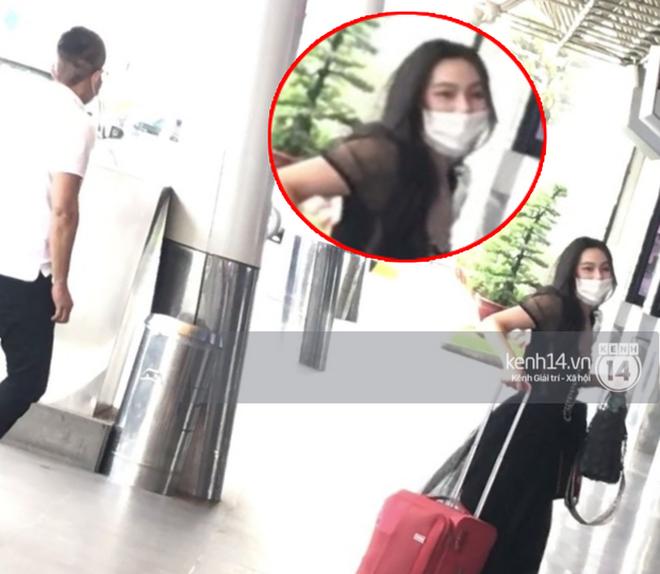 Nghi vấn lộ loạt ảnh thân mật với tình mới ở sân bay, MC Minh Hà chính thức lên tiếng: Mình và bạn chỉ ghé sát tai để chào hỏi-2