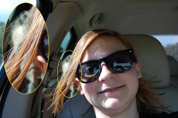 Chụp ảnh selfie, bé gái sau đó mới phát hiện gương mặt kì lạ phía sau và tin rằng nó có liên quan đến vụ tai nạn 1 năm trước-2