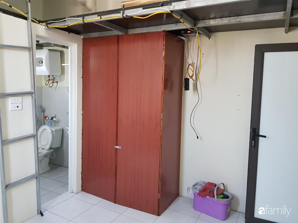 Căn hộ mini 18m² vừa chật vừa bí được cải tạo rộng đẹp hiện đại sau khi đập tường, bỏ gác xép ở Hà Nội-3