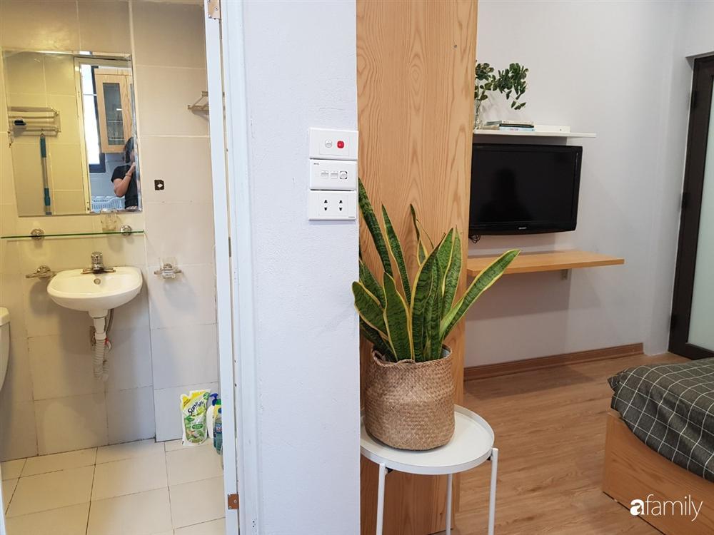 Căn hộ mini 18m² vừa chật vừa bí được cải tạo rộng đẹp hiện đại sau khi đập tường, bỏ gác xép ở Hà Nội-23