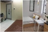 Căn hộ mini 18m² vừa chật vừa bí được cải tạo rộng đẹp hiện đại sau khi đập tường, bỏ gác xép ở Hà Nội