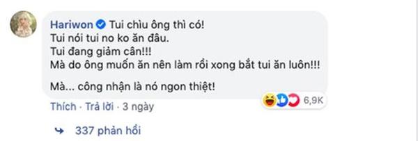 """Anh chồng đảm"""" nhất showbiz Việt mùa dịch gọi tên Trấn Thành: Fanpage gần 12 triệu likes thường xuyên khoe ảnh đồ ăn, toàn là món tự tay nấu cho Hari-9"""