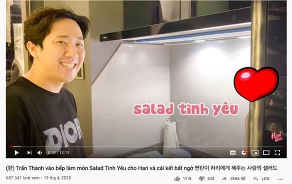 """Anh chồng đảm"""" nhất showbiz Việt mùa dịch gọi tên Trấn Thành: Fanpage gần 12 triệu likes thường xuyên khoe ảnh đồ ăn, toàn là món tự tay nấu cho Hari-10"""