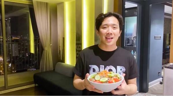 """Anh chồng đảm"""" nhất showbiz Việt mùa dịch gọi tên Trấn Thành: Fanpage gần 12 triệu likes thường xuyên khoe ảnh đồ ăn, toàn là món tự tay nấu cho Hari-11"""