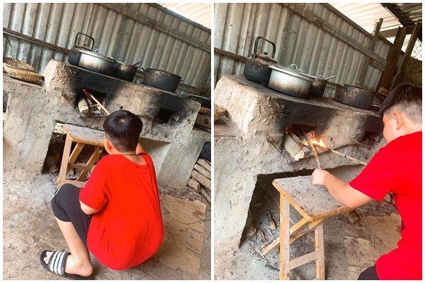 Nghỉ dịch dài ngày, Lê Phương dẫn cả gia đình về Tây Ninh trồng cây, hái quả-10