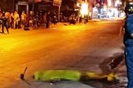 Hiện trường vụ sát hại bạn nhậu rồi bỏ thi thể nạn nhân bên đường