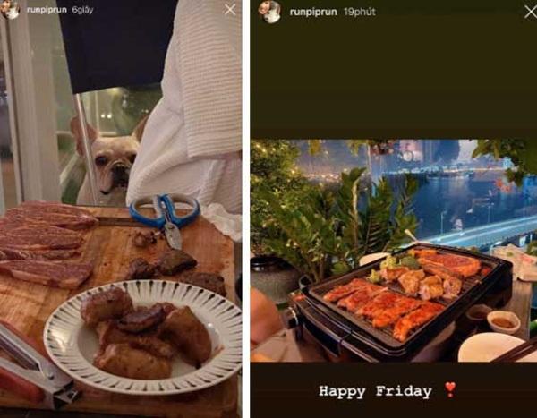 Vừa chia tay, Phillip Nguyễn đã khoe ảnh ăn tối cuối tuần với một cô gái, bóng phản chiếu trong kính trông quen quen?-1