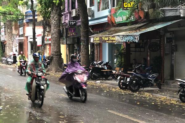 Dự báo thời tiết 25/4, không khí lạnh tăng cường, Hà Nội mưa rét-1