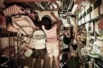 Nới cách ly: Nam thanh nữ tú tụ tập, trèo lan can vào cầu Long Biên sống ảo-1