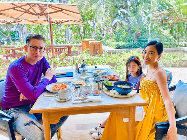Con gái Đoan Trang mới 6 tuổi đã sở hữu nhan sắc bông hồng lai xinh đẹp, lại còn có khả năng đáng nể này-3