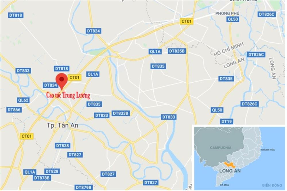 Cháy ôtô 7 chỗ trên cao tốc Trung Lương, giao thông ùn tắc 3 km-2