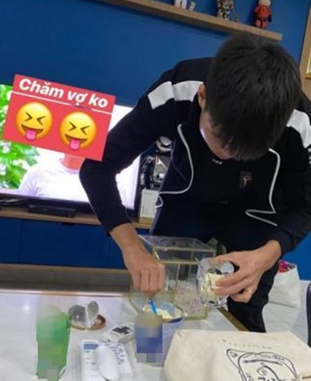 Quỳnh Anh để lộ vòng hai to bất thường, nghi vấn mang thai khiến fans tới tấp chúc mừng Đỗ Duy Mạnh được lên chức bố-3