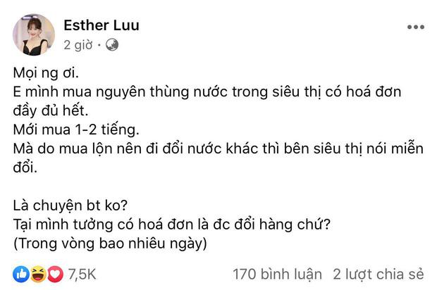 Hari Won thắc mắc chuyện đổi hàng đã mua ở siêu thị, Thu Minh và dàn sao cũng phải xôn xao-1