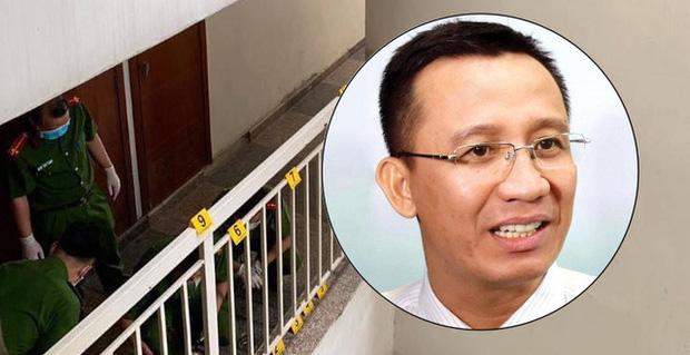 Tìm được đoạn camera ghi hình Tiến sĩ Bùi Quang Tín trước khi tử vong-1