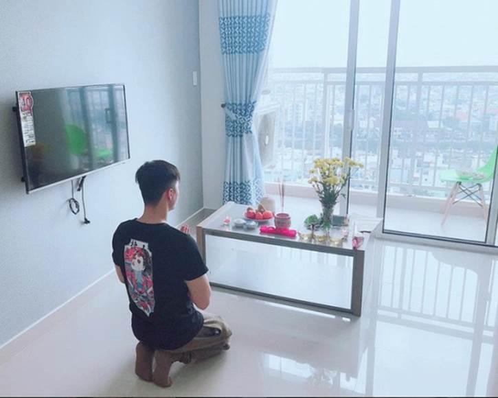 Hé lộ không gian bên trong căn hộ Linh Chi đang sống cùng Lâm Vinh Hải-1