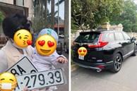 Em bé thay bố bấm biển xe ô tô, không ngờ lại mang về kết quả 'cực độc' khiến nhiều người phải ao ước