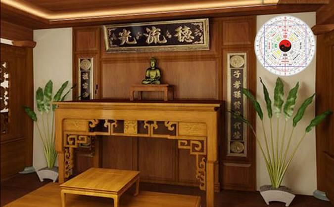 Thiết kế bàn thờ hợp phong thủy cho người mệnh Thủy-2