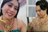 Xôn xao hình ảnh 'cô Minh Hiếu' chuyển giới đeo 20 cây vàng kín người khi tham gia talk show