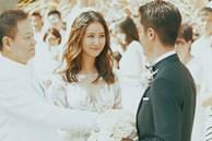 Loạt khoảnh khắc hiếm trong lễ cưới của Lâm Tâm Như - Hoắc Kiến Hoa vừa được tiết lộ, chú rể rưng rưng bên cô dâu