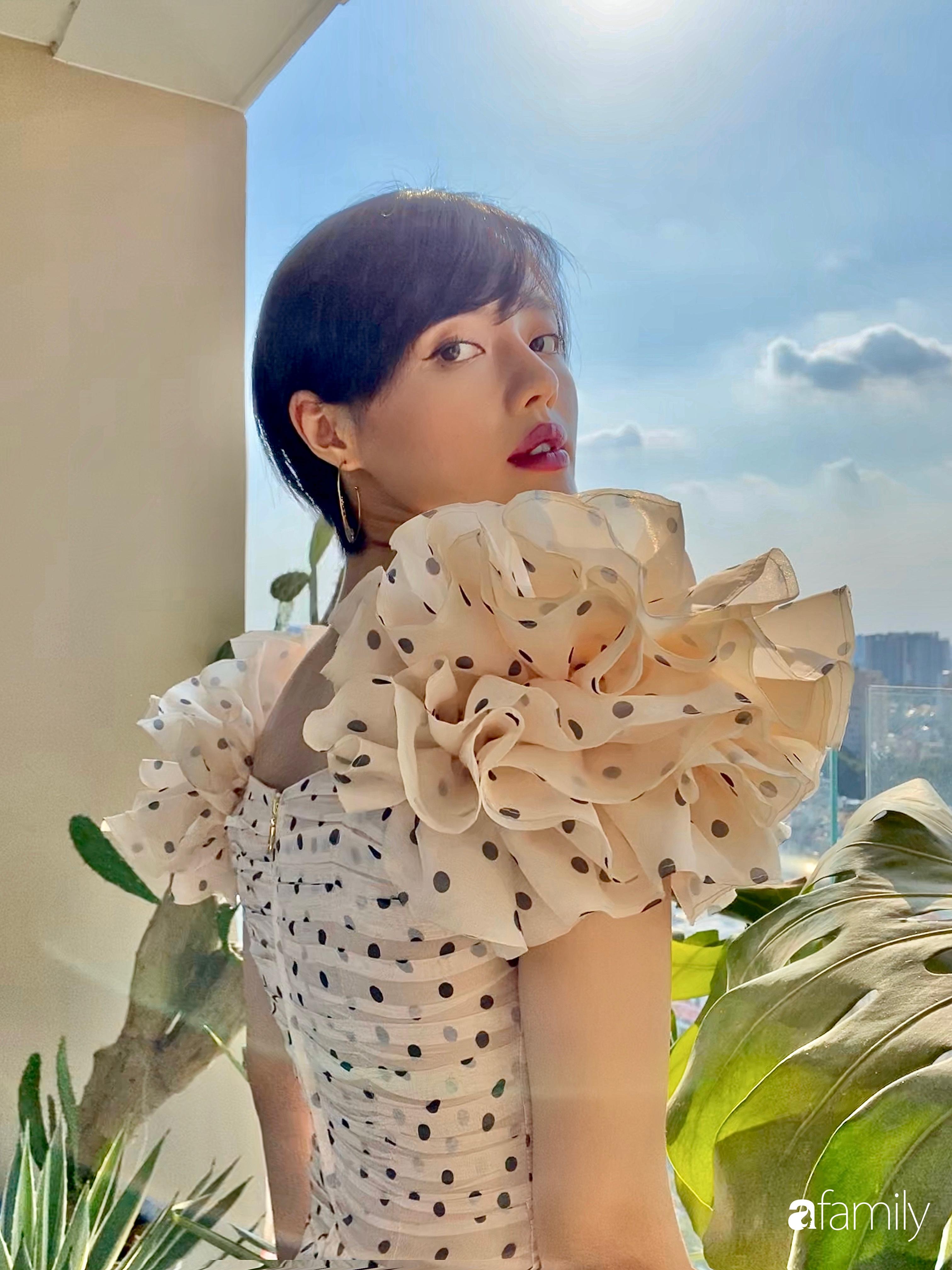Khánh Linh The Face chịu chi 400 triệu đồng để cải tạo căn hộ đi thuê với diện tích 110m² thành tổ ấm đẹp như thơ-1