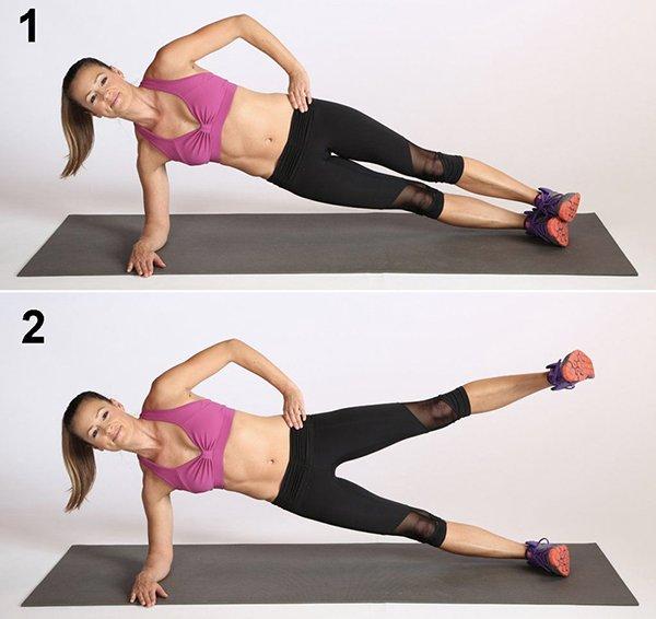 1 phút plank bằng 60 lần gập bụng, nàng hãy áp dụng ngay để nghỉ lễ không lo béo bụng-5